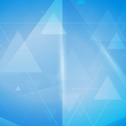 abstract triangles stacked