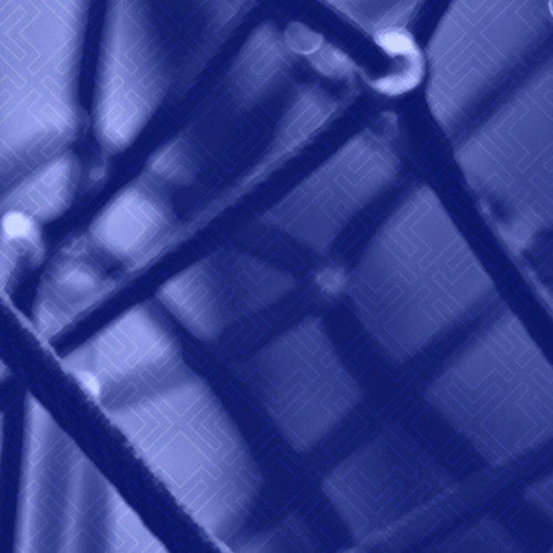 abstract purple and blue web