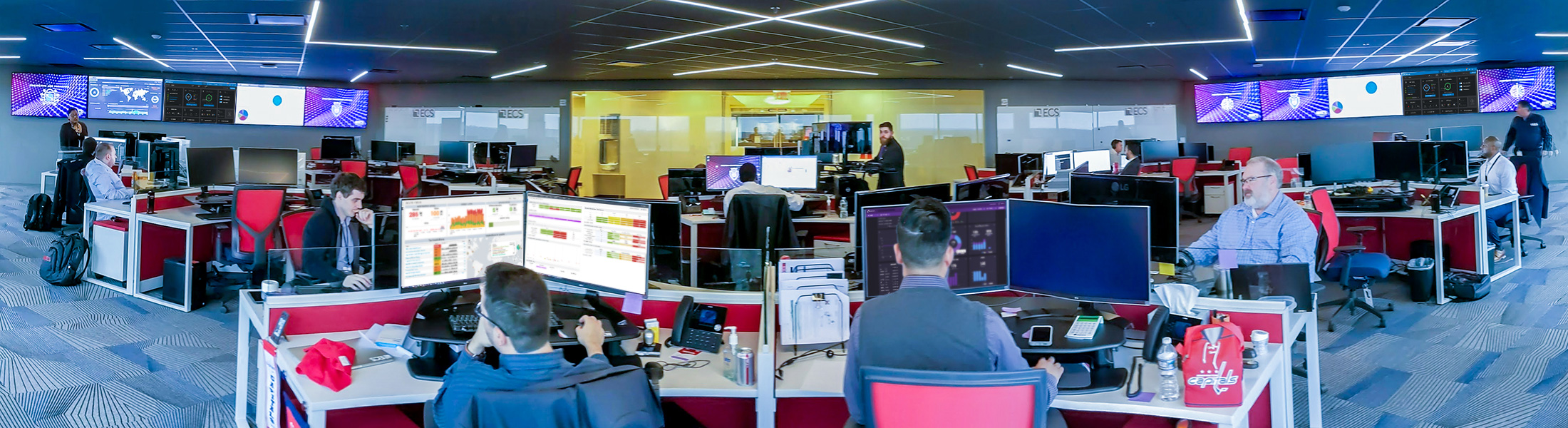 ECS Unveils Cutting-Edge Security Operations Center (SOC)