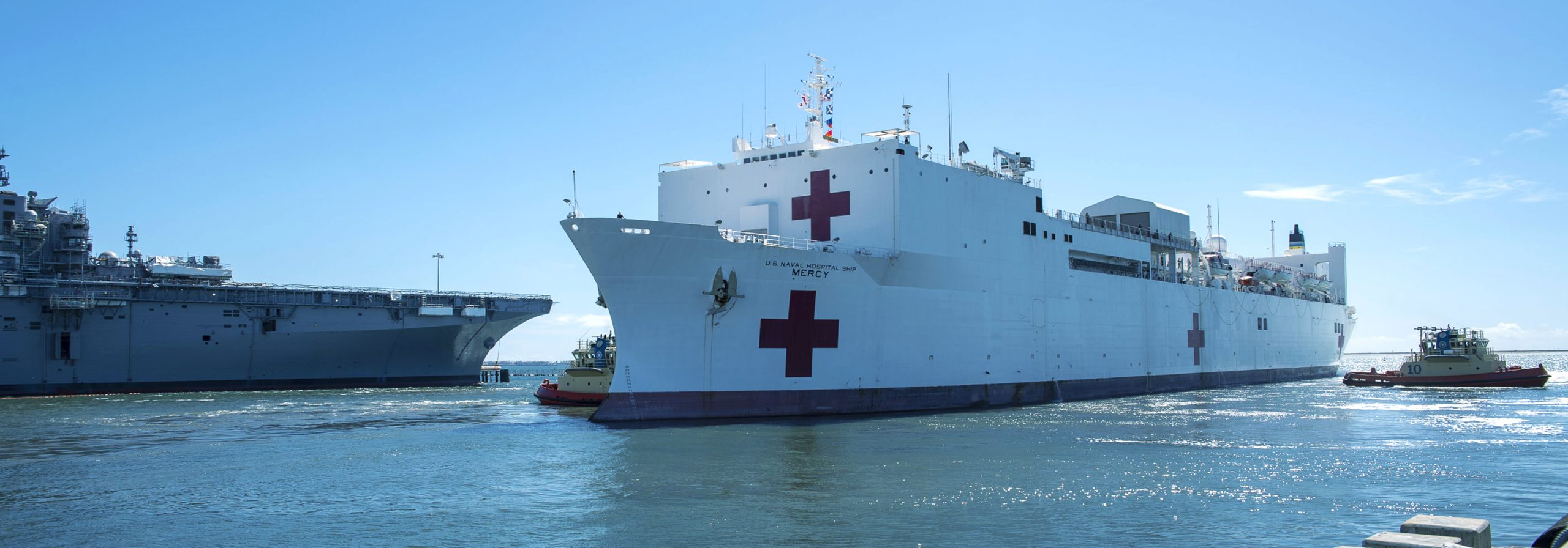 ECS Supporting Coronavirus Relief Aboard the USNS Mercy